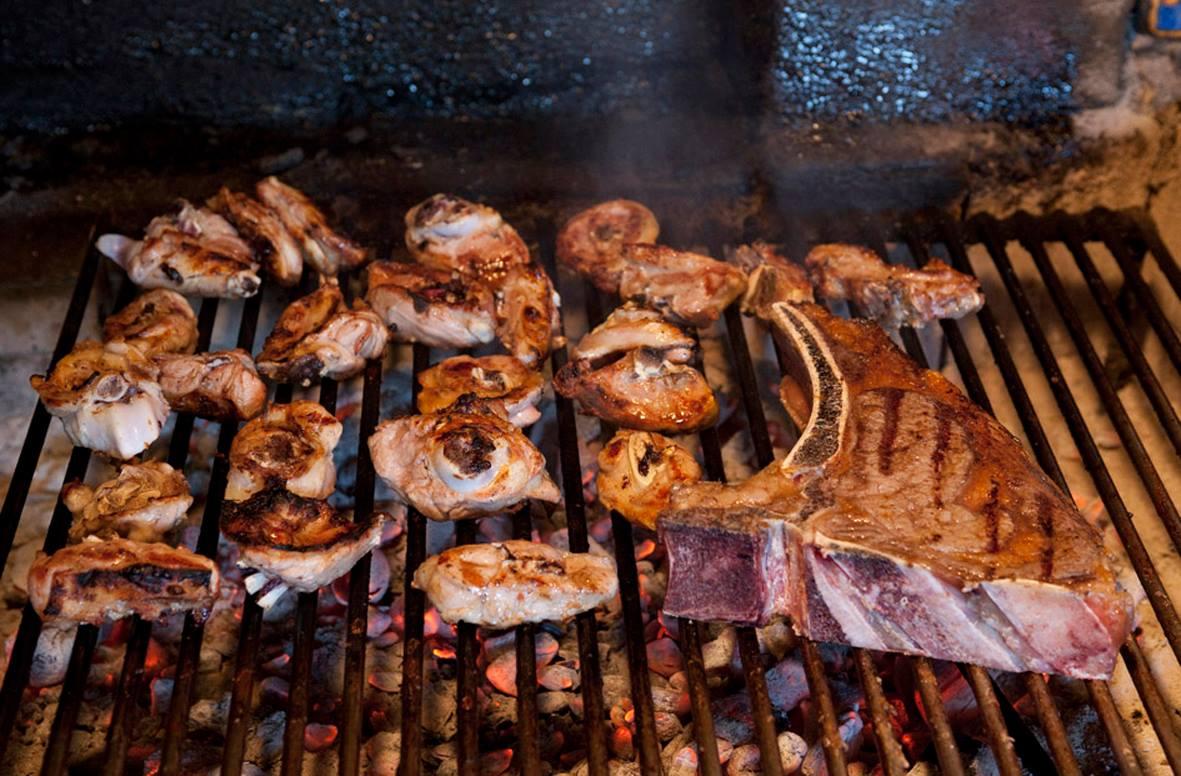 Carnes a la Brasas en el Torreón de Tordesillas Valladolid