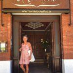 Carla de Bulgaria visita El Torreón de Tordesillas